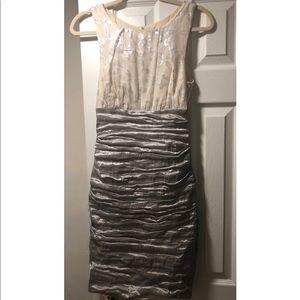 Dresses & Skirts - Nicole Miller Dress Silver/White